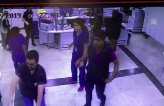Doktora Darp Kameraya Yansıdı /Video