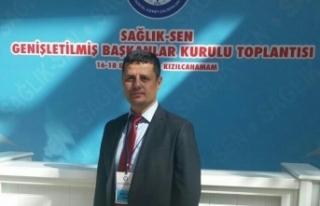 Kırşehir Sağlık Sen Seçiminde Adaylardan biri...