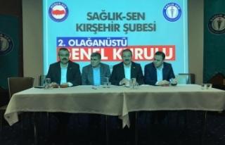 Kırşehir Sağlık Sen Şube Seçimleri Sonuçlandı