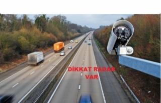 Sürücülere Önemli Radar Uyarısı