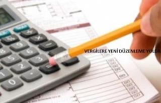 Vergilere Yeni Düzenleme Yolda
