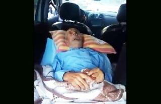 Yatalak hastaya ambulans tahsis edilmediği haberlerine...