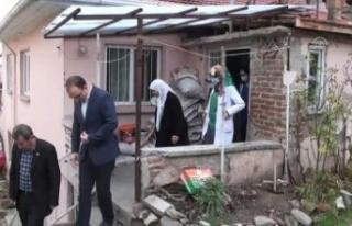 90 yaşındaki kadın 2 katlı evini hastaneye bağışladı