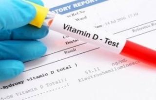 D vitamini tetkik istemi hakkında duyuru