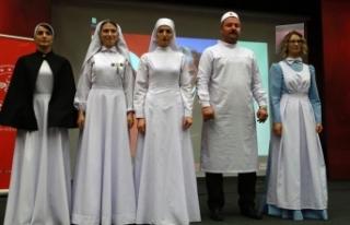 'Geçmişten günümüze hemşire kıyafetleri'...