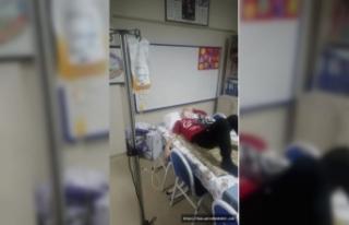 Hastane Koridorunda Kemoterapi Tedavisi iddiası