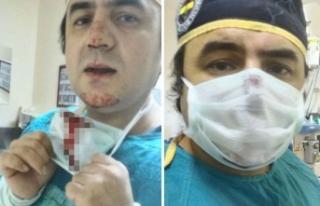 Doktor kırık burunla ameliyata girdi