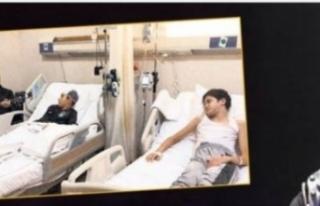 Hastanede Haluk Levent'i dinleyen Arda'nın...