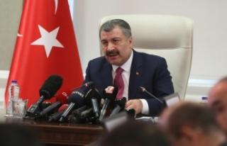 KOCA: Elazığ'a 8 Saatte 2 bin 625 sağlıkçı...