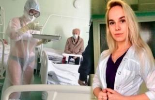 O Hemşireye Vali ve Doktorlardan Destek