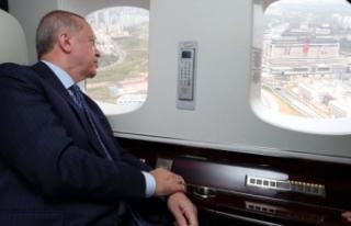 Cumhurbaşkanı Erdoğan, maskeyle ilk kez görüntülendi