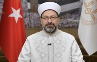 """Erbaş: """"12 Haziran'da camilerimizin avlularında..."""