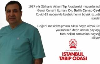 Genel Cerrahi Uzmanı Doktor  hayatını kaybetti