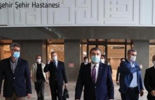"""Koca: """"Başakşehir Şehir Hastanemizin açılışı..."""