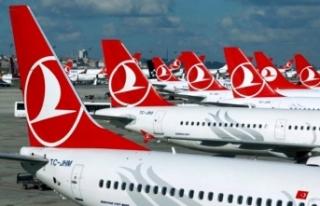 Türk Hava Yolları iç hat ve dış hat seferlerine...