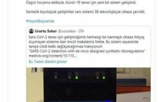 Bakan Varank sosyal medyadan duyurdu!