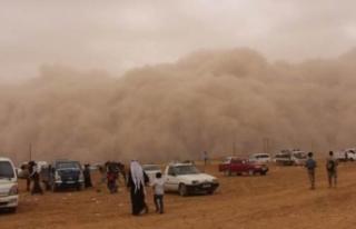 Meteoroloji'den toz bulutu için yeni uyarı!...