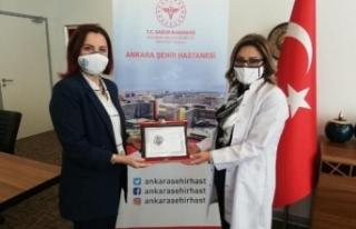 Ankara Şehir Hastanesi'ne iki ödül birden