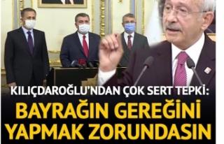 Kılıçdaroğlu Pandemi Toplantısına Tepki Gösterdi