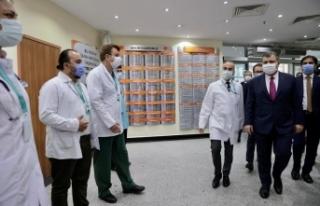 Bakan Koca İstanbul'da Hastanelerde İncelemelerde...