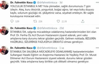Bakan Koca'dan İstanbul uyarısı: Çok dikkatli...