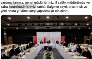 İstanbul'da Bakan Koca başkanlığında salgınla...