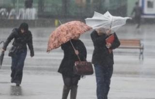Meteorolojiden 5 il için kuvvetli yağış ve fırtına...