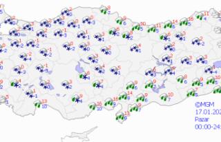 Meteorolojiden il il, bölge bölge 'yoğun kar...