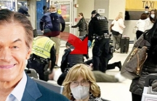 Dr. Mehmet Öz havalimanında hayat kurtardı