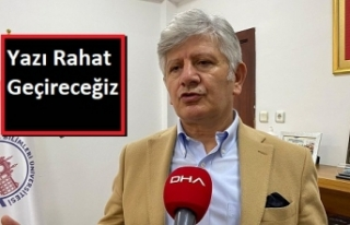 Prof. Dr. Aydın: Kapatmayı Gerektirecek Yükseliş...