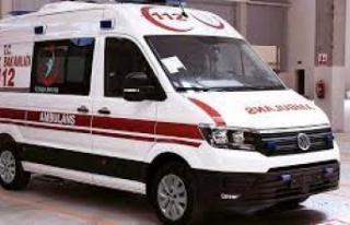 Ambulansın çarptığı şahıs hayatını kaybetti