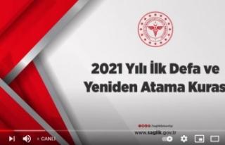 Canlı- 2021 Yılı İlk Defa ve Yeniden Atama Kurası