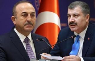 Çavuşoğlu: Sağlık Bakanı İle Rusya'ya...