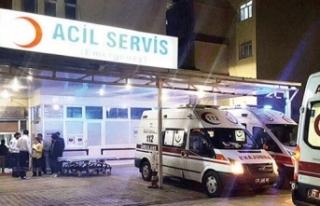 Filyasyon ekibi kaza yaptı: 1'i doktor, 3 personel...