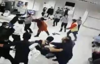 Hastanedeki şiddet olayında 9 hasta yakınına 13...