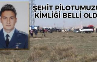 Konya'da Savaş Uçağımız Düştü 1 Şehit