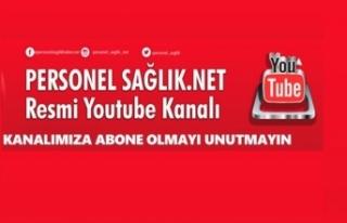 Personel Sağlık NET YouTube Kanalı Açıldı