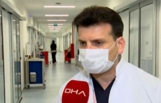 Prof. Dr. Yiyit: İstanbul'da ayakta başvuru...