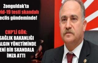 Zonguldak'ta Covid-19 testi skandalı Meclis gündeminde!