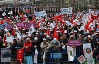 700 bin kamu işçisi taban ücret istiyor