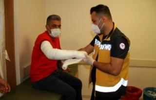 Ambulans Şoförünü Yaralayan Hasta Yakını Tutuklandı