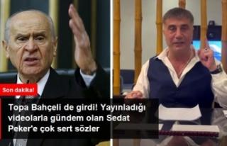 Bahçeli'den Sedat Peker'e Çok Ağır Sözler