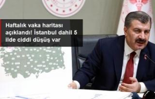 Bakan KOCA Haftalık Vaka Sayılarını Açıkladı