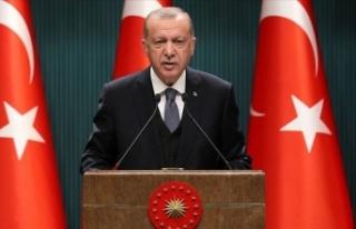 Erdoğan: Salgını yeniden büyük ölçüde kontrol...