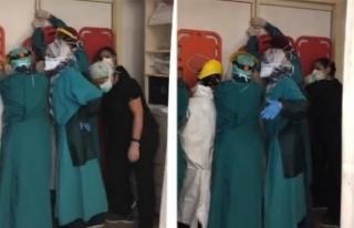 Keçiören'de hastane personeline saldırı davası...