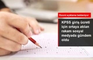 KPSS giriş ücretinin 300 liraya yükseldiği iddiası