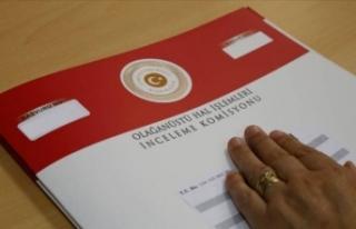 OHAL Komisyonu'na yapılan 14 bin 72 başvurunun...