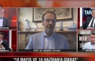 Prof. Dr. Ceyhan'dan uyarı: 18 Mayıs ve 18...