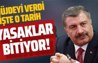 Sağlık Bakanı Fahrettin Koca'dan dikkat çeken...