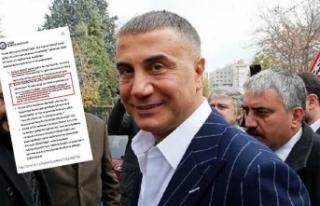 Sedat Peker: Sayın Bakan ile hiç yan yana gelmedim